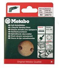Metabo 24073 100x Haft - Schleifblätter 80mm P80