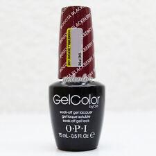 OPI GelColor Soak Off LED/UV Gel Nail Polish 0.5 oz Bogota Blackberry #GCF52