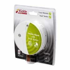 Kidde i9060 Battery Smoke Alarm with Hush & Test Function Includes Battery 5YR