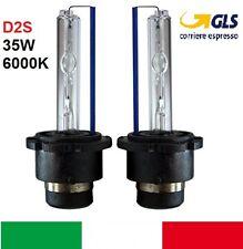 Coppia lampade bulbi kit XENO Alfa Romeo 147 D2S 35w 6000k lampadina HID fari