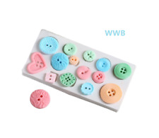 Silicone Button Shapes Cake Mould Set Candy Baking Tool Set Decorating Mold