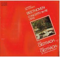 Beethoven : Concerto Pour Violon / Igor & David Oistrakh, Wiener- LP Rca