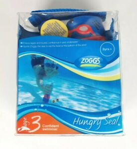 Zoggs Swimming Stage 3 Weightes Retrieval Toys Hungry Seal