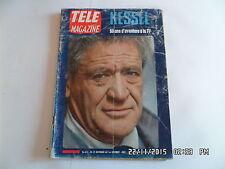 TELE MAGAZINE N°631 25/11/1967 JOSEPH KESSEL    I69