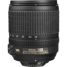Nikon 18-105 mm AF-S DX NIKKOR f3.5-5.6 G ED VR Lens: con cappuccio + TAPPI OB