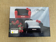 More details for hello kitty red sofa jewellery box japan toreba prize