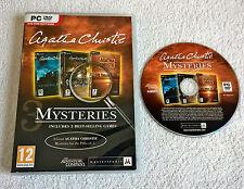 Agatha Christie: Triple Mystery Pack - Windows PC - DVD-ROM