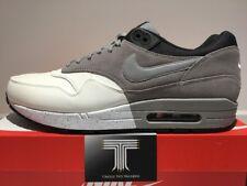 Nike AIR MAX 1 Premium in Pelle ~ RARE! un solo su ebay!!! 512033 101 ~ UK 12
