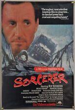 SORCERER ROLLED ORIG MCA VIDEO POSTER ROY SCHEIDER WILLIAM FRIEDKIN (1990's)