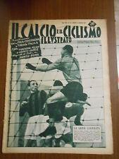 IL CALCIO e i CICLISMO illustrato-n.50 marzo 1953- 12° giornata di campionato