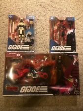 ?GI Joe Classified Series Baroness With Cobra C.O.I.L. RED NINJA STORM SHADOW