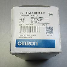 Omron E5CSV-R1TD-500 digital temperature controller 24V AC/DC