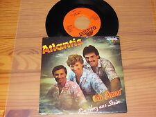 ATLANTIS - MI AMOR / TYROLIS 7'' SINGLE MINT- 1986