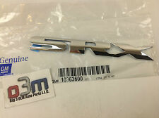 2004-2009 Cadillac SRX Rear Liftgate Chrome SRX Emblem NAMEPLATE new OEM