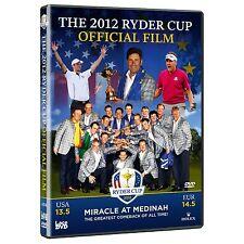 39. Ryder Cup 2012 Official Film [DVD] *NEU* Golf Medinah USA vs. Europa Kaymer
