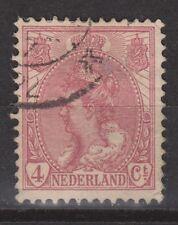 NVPH Netherlands Nederland 58 used Wilhelmina bontkraag 1899-1921 Pays Bas