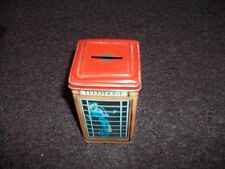 Ian Logan Telephone Tin Collectables woman in blue dress  England Vintage Phone