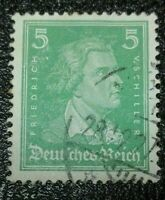 Germany: 1926 Famous Germans 5 Pfg . Rare & Collectible Stamp.