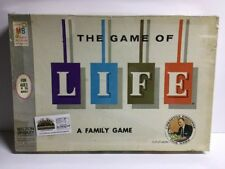 Vintage 1960 The Game of Life A Family Board Game Milton Bradley Complete!