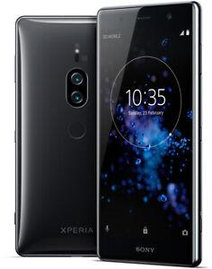 "Sony Xperia XZ2 Premium DualSim schwarz 64GB LTE Android Smartphone 5,8"" 19 MPX"