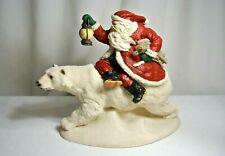 "Legend of Santa Claus 1995 Into the Wind Large 12"" Lim Ed Figure Memoli"