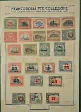 GUATEMALA STAMPS SELECTION ON ALBUM PAGE  (N138)