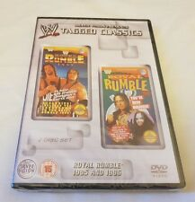 NEW & SEALED WWE WWF Tagged Classics Royal Rumble 1995 & 1996 DVD 2 Discs 95 96