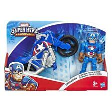 Playskool Heroes Marvel Super Hero Adventures Captain America Victory Racer