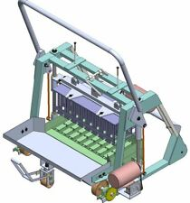 Concrete Block Brick Maker Making Machine Plans Build Your Own