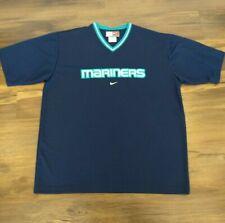 Seattle Mariners Baseball MLB Blue Team Shirt Nike Size XXL