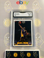 2003 Topps Kobe Bryant #36 - 10 GEM MINT GMA Graded Lakers Basketball Card