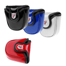 Semicircle PU Universal Golf Head Cover Mallet Putter Headcover Protector