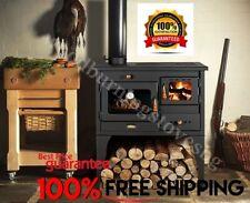 Cucina Stufa a legna con Forno ghisa Piano Prity 1p34l 10kw