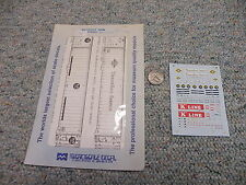 Microscale decals N Containers TraileRail K Line J145