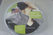 Herbal Concepts Comfort Neck & Shoulder Wrap Charcoal Hot & Cold NIP Tall Collar