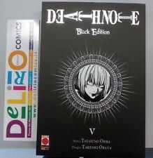 DEATH NOTE BLACK EDITION N.5   Ed. PLANET MANGA SCONTO 10%