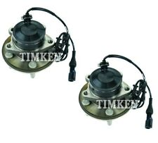 Pair Set of 2 Front Timken Wheel Bearing & Hub Kit for Jaguar XF XK XKR XFR RWD