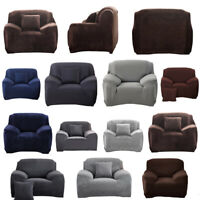 1 Seater Armchair Stretch Recliner Chair Slipcover Protector Couch Sofa Cover