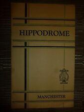HIPODROME MANCHESTER THEATRE: CARNIVAL IN THE TYROL - ROBERT MANNING - DAN FOLO