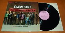 Charlie Haden - Liberation Music Orchestra - 1971 UK Proble Vinyl LP