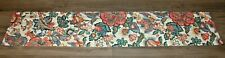 Waverly Home Fashions Floral Vintage Window Valance Bright Multi Colored