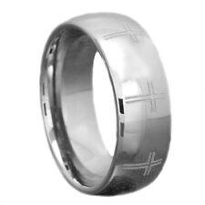 Modeschmuck-Ringe aus Wolfram ohne Stein für Herren