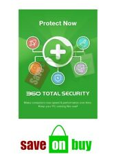 360 Total Security 2018 - 1 Year , 1 Device - Windows Product Key