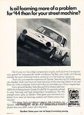 1971 Triumph Spitfire Quaker Oil Original Advertisement Print Art Car Ad J810