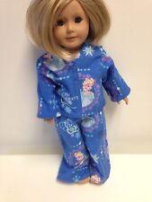 Disney Frozen Elsa Snow Queen Pajamas NEW Handmade american girl doll Pjs