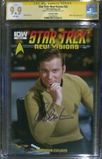 Star Trek: New Visions #22 photo cover_CGC 9.9 MINT SS_Signed by William Shatner