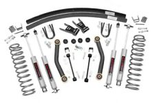 "4.5"" Suspension Lift Kit w/ Shocks for Jeep Cherokee XJ 1984-2001 Rough Country"