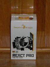 Brand New Trophy Ridge React PRO 5 Pin Bow Sight- Black -LEFT Handed .019 Pins