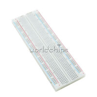 10Pcs MB102 Solderless Breadboard Protoboard 830 Tie Points 2 buses Test Circuit