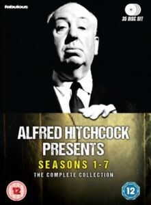 Alfred Hitchcock Presents Complete Collection Seasons 1 - 7 DVD Box Set R4 New